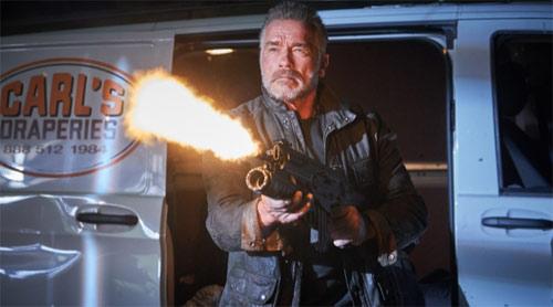 Terminator: Dark Fate mit Arnold Schwarzenegger als T-800
