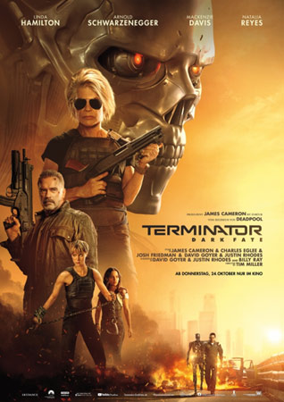 Terminator: Dark Fate deutsches Plakat