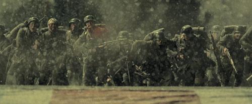The 800 Soldaten wollen in britische Konzession