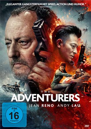 The Adventurers Deutsches DVD Cover