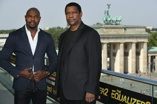 Denzel Washington und Antoine Fuqua präsentieren The Equalizer 2 in Berlin