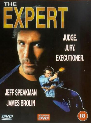 The Expert mit Jeff Speakman DVD Cover