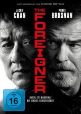 The Foreigner Jackie Chan und Pierce Brosnan auf DVD Cover