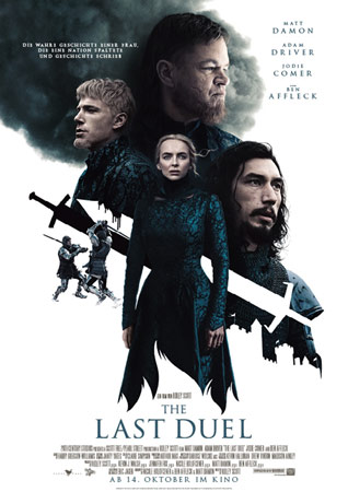The Last Duel Filmplakat Filmposter
