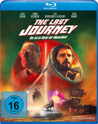 The Last Journey Blu-ray Cover