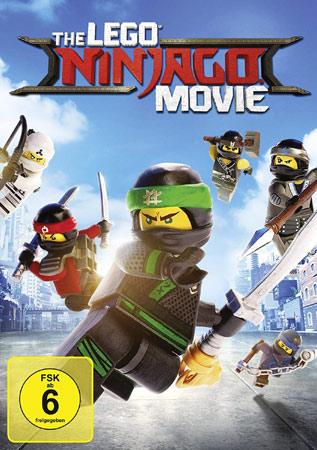 The Lego Ninjago Movie DVD Cover