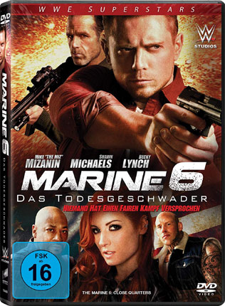 The Marine 6 mit The Miz und Shawn Michaels