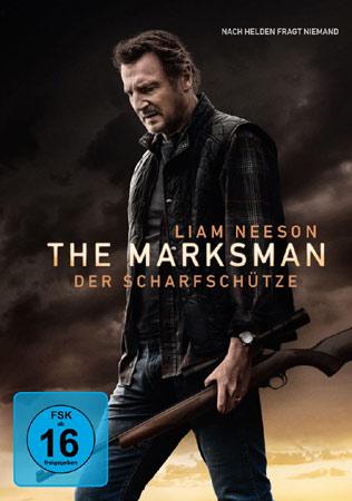 The Marksman mit Liam Neeson DVD Cover