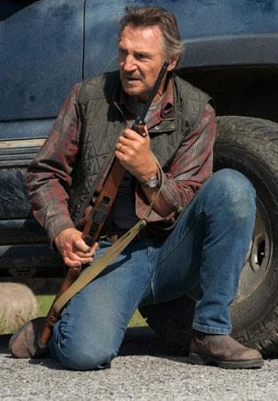 "Liam Neeson als Marine in ""The Marksman"""