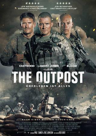 The Outpost - Überleben ist alles deutsches Kinoplakat