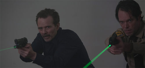 Shadow Effect Michael Biehn als Sheriff