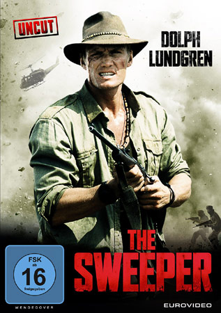 The Sweeper DVD Cover mit Dolph Lundgren