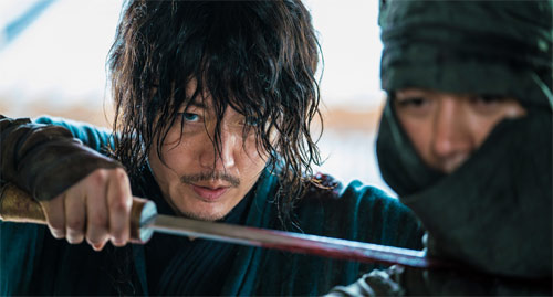 The Swordsman Tae-yul in Action