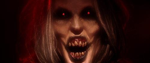 Fieswicht im Halloween-Horror