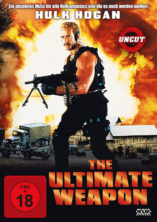 The Ultimate Weapon mit Hulk Hogan DVD Cover