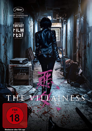 The Villainess Deutsches DVD Cover