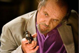Jack Nicholson in Departed