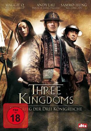 Three Kingdoms von Daniel Lee deutsches DVD Cover
