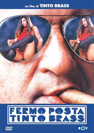 P.O. Box Tinto Brass DVD Cover aus Italien