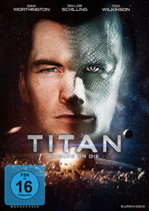 Titan Deutsches DVD Cover