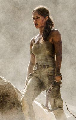 Tomb Raider mit Alicia Vikander im sexy Lara-Look