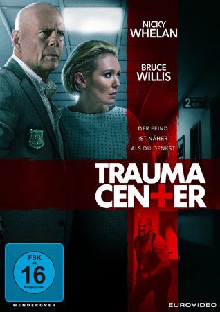 Trauma Center mit Bruce Willis DVD Cover