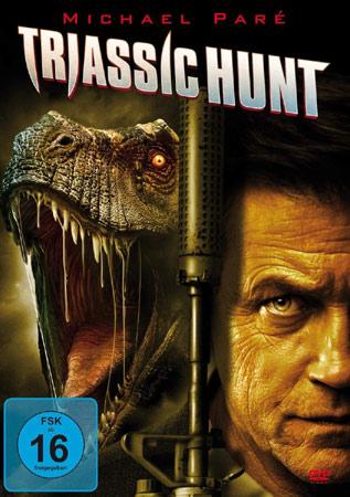 Triassic Hunt mit Michael Pare DVD Cover