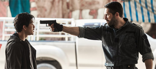 Scott Adkins als Bösewicht in Triple Threat