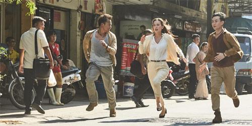 Tony Jaa, Celina Jade und Tiger Chen werden gejagt