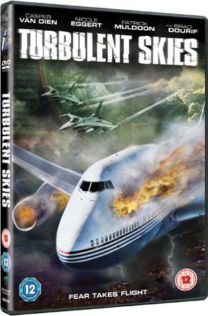 Turbulent Skies mit Casper Van Dien Cover