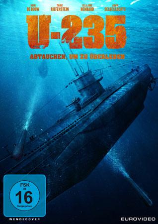 Cubierta de DVD U-235