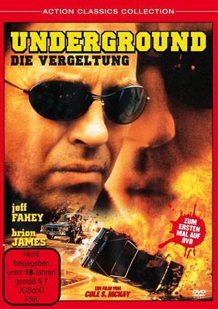 Underground - Die Vergeltung mit Jeff Fahey DVD Cover