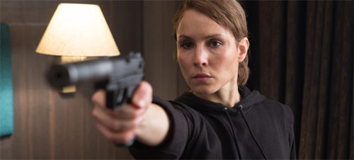 Unlocked Noomi Rapace in Action