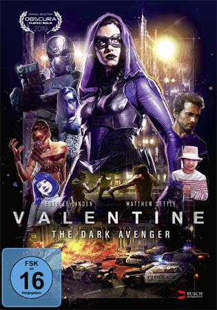 Valentine – The Dark Avenger DVD Cover