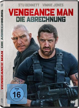 Vengeance Man: Die Abrechnung mit Stu Bennett und Vinnie Jones DVD Cover