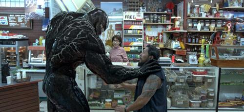 Venom mit dem Symbiont aus Spider-Man