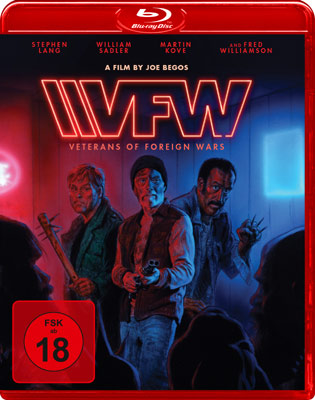 VFW Veterans of Foreign Wars Blu-ray Cover