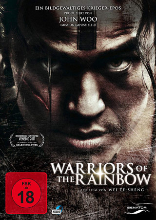 Warriors of the Rainbow DVD Cover