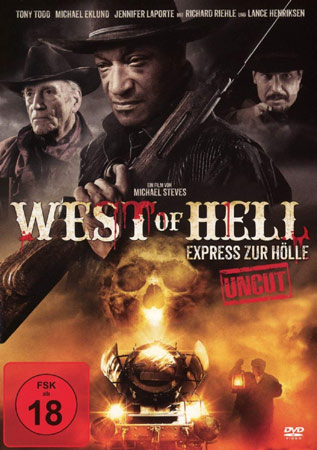 West of Hell mit Lance Henriksen DVD Cover
