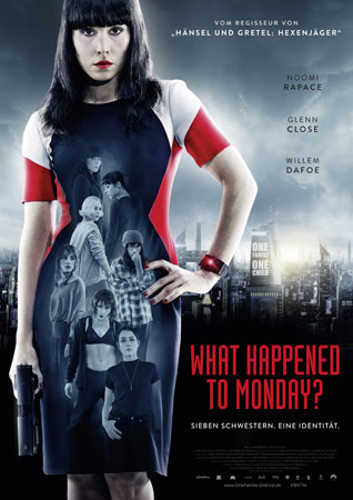 What Happened to Monday deutsches Filmplakat