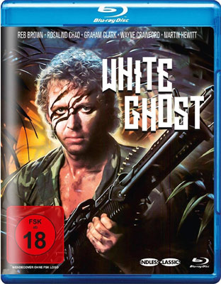 White Ghost Blu-ray Cover
