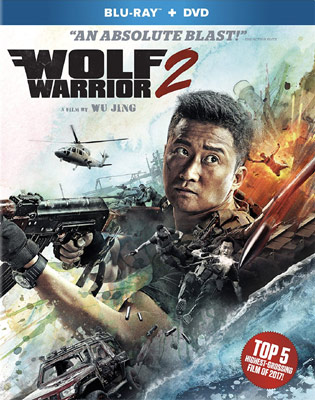 Wolf Warrior 2 Wu Jing Cover