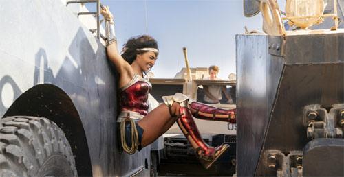 Wonder Woman 1984 Achselfetisch