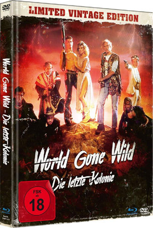 World Gone Wild mit Michael Pare im Mediabook