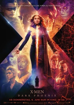 X-Men: Dark Phoenix deutsches Poster